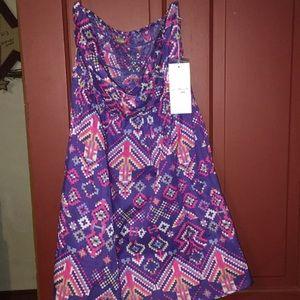 Dress strapless nwt 🏷  ali & kris sz large boho